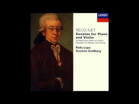 Radu Lupu & Szymon Goldberg - Wolfgang Amadeus Mozart - Sonata No. 23 in D major, K 306
