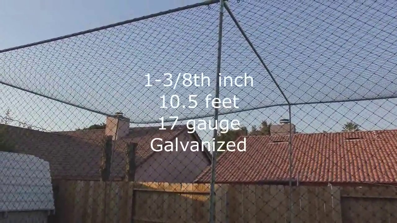 HOW TO BUILD A BATTING CAGE IN YOUR BACKYARD - YouTube