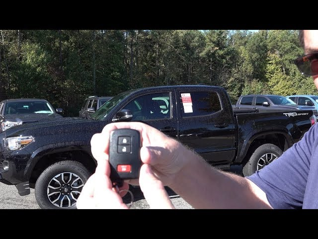 How To Unlock All Doors With Toyota Smart Key Youtube