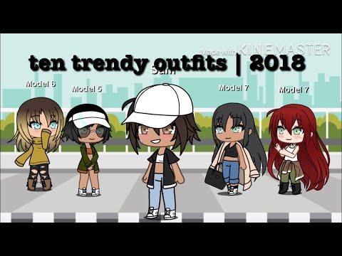 nine outfits + one bonus outfit