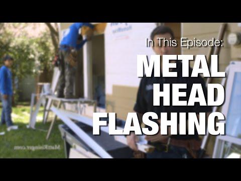 How To Make Window Flashing