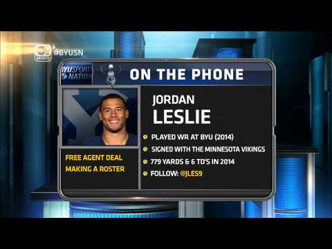 Jordan Leslie Full Interview | May 6, 2015