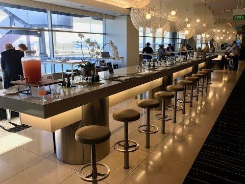 Qantas Business Lounge Sydney International Terminal T1