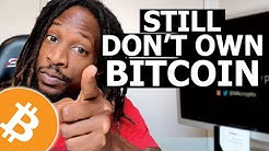 Don't be late to the party (Get Bitcoin today)