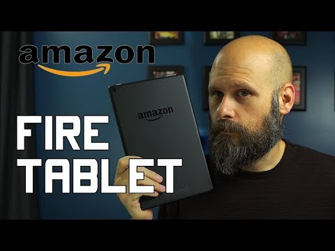 Amazon Fire Tablet Accessibility - The Blind Life