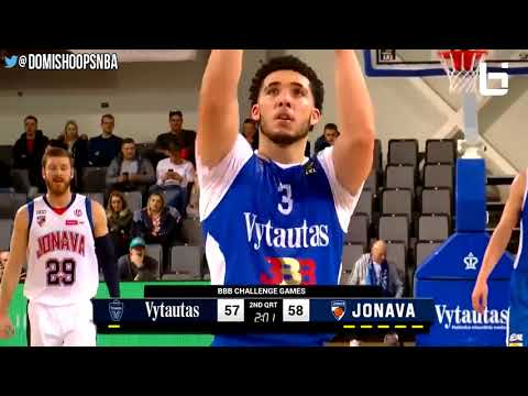LaMelo Ball 40 Point Triple Double & LiAngelo Is On Fire! Lithuania LaVar Head Coach For a Day!