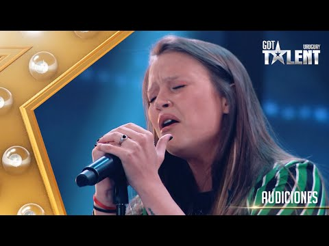 Pilar no logró impresionar y se despide de Got Talent Uruguay