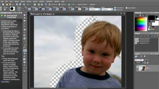 Cutting Out Objects - Paint Shop Pro Photo X2 Ultimate