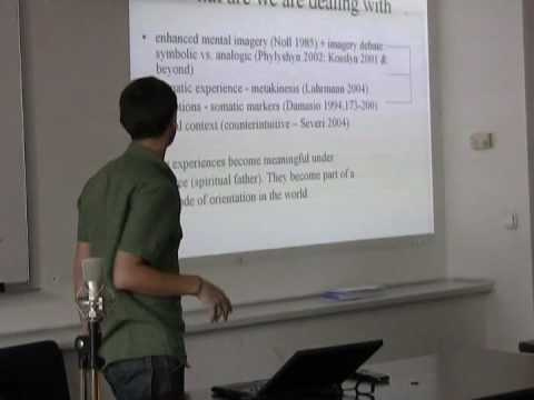 Vlad Naumescu: Imagination as specific mode of religious thinking?!