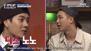 [Sub Español] GOT7 Jackson batalla de rap con RM en Problematic Men Ep9