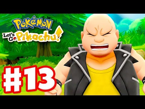 Pokemon Let&39;s Go Pikachu and Eevee - Gameplay Walkthrough Part 13 - Routes 13 14 and 15