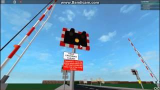 ROBLOX Bentown Yoxham Level Crossings plus United Kingdom Driving World