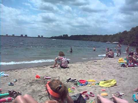 Johnsons Beach Barrie Ontario Canada