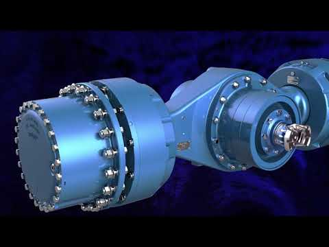 Heavy Duty Axles for Underground Mining Applications