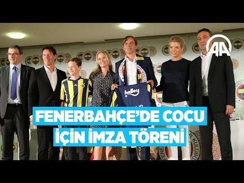 Fenerbahçe'de Cocu için imza töreni