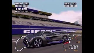 World Driver Championship (Actual N64 Capture) - Unlocking the Falcon Interceptor