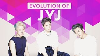The Evolution of JYJ  - Tribute to K-POP LEGENDS