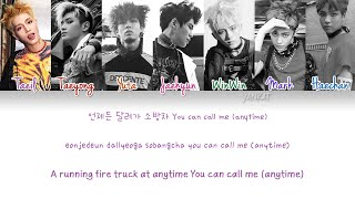 NCT 127 – Fire Truck (소방차) (Color Coded Han|Rom|Eng Lyrics) | by Yankat
