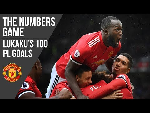Romelu Lukaku's 100 Premier League Goals | The Numbers Game | Manchester United