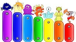 रंग सीखे हिंदी मे | Learn The Colors Of The Rainbow | Annie Aur Ben Ki Paathshala