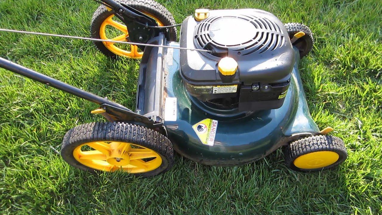 "Sears Craftsman 21"" Lawn Mower Craigslist Find Revving ..."