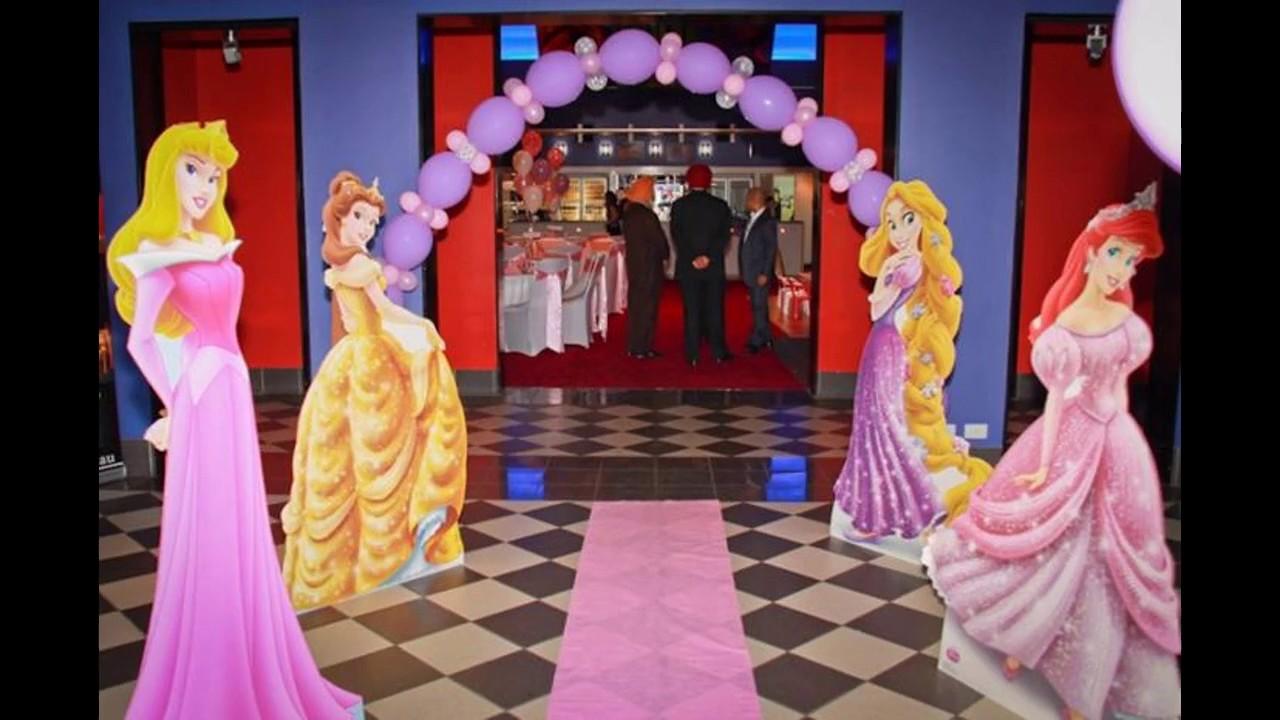 Charming Princess Theme Decoration Ideas Part - 9: Princess Birthday Party Decorating Ideas. Great Party Decorations