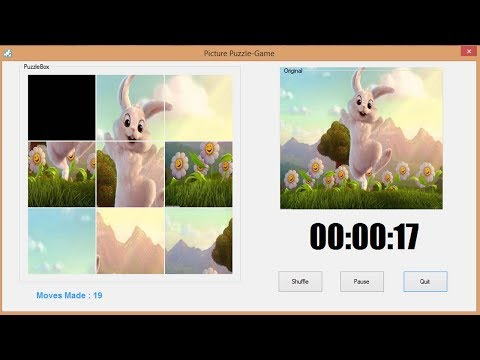 How to Create Picture Puzzle Game in C#