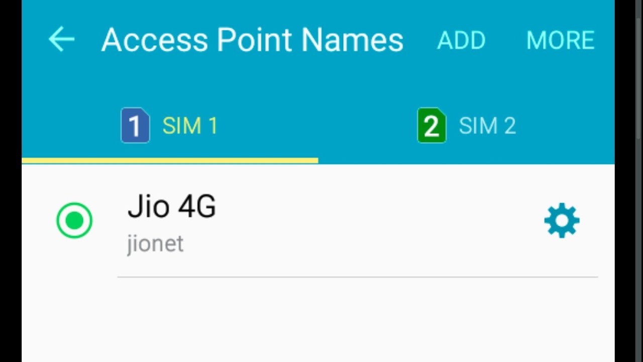 Samsung Galaxy J7 J5 J3 j2 Reliance Jio 4G LTE Sim VoLTE settings