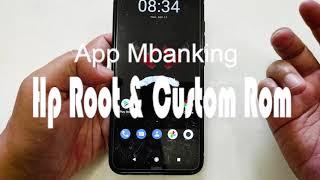 App Mbanking Di Hp Root Dan Custom Rom Pada Xiaomi Redmi Note 8 Youtube