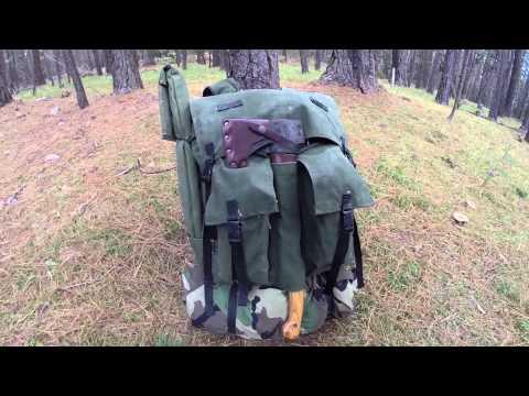 DIY Backpack - Based on the Frost River Bushcraft Jr