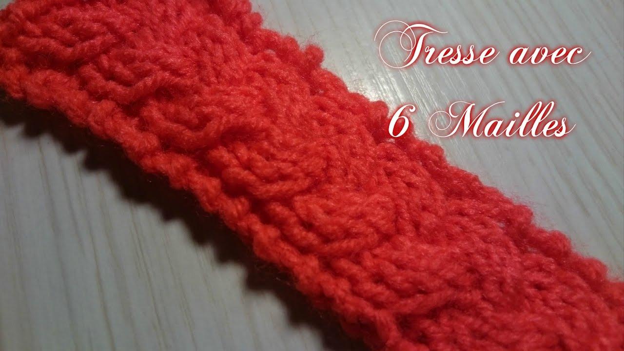 tricoter 6 mailles torsade