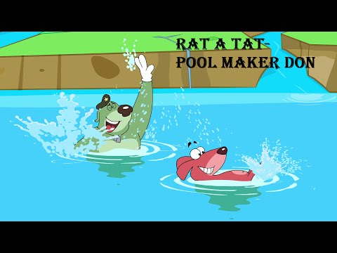 Rat-A-Tat | 'Pool Maker Don' | Chotoonz Kids Funny Cartoon Videos
