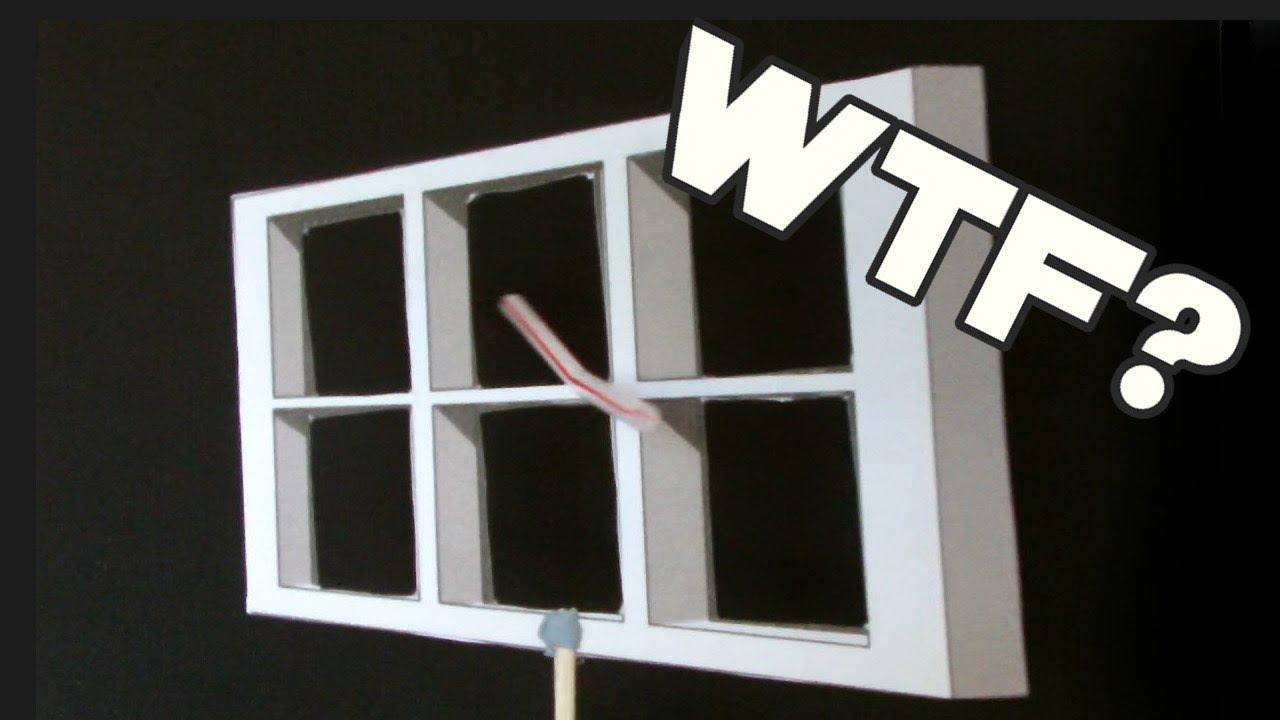 ames window illusion youtube