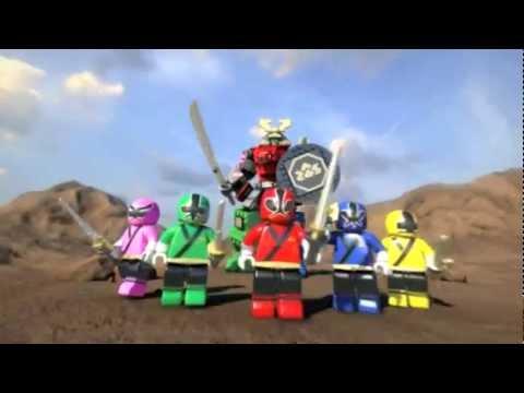 Mega Bloks Power Rangers Samurai TV Commercial