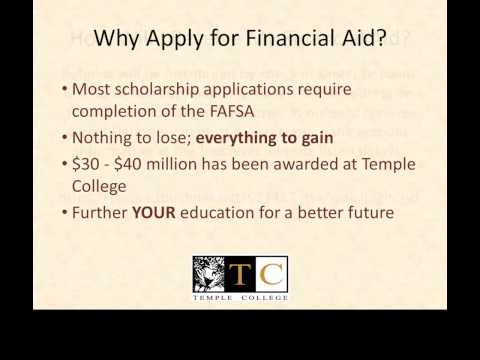 2015 Temple College Office Of Financial Aid
