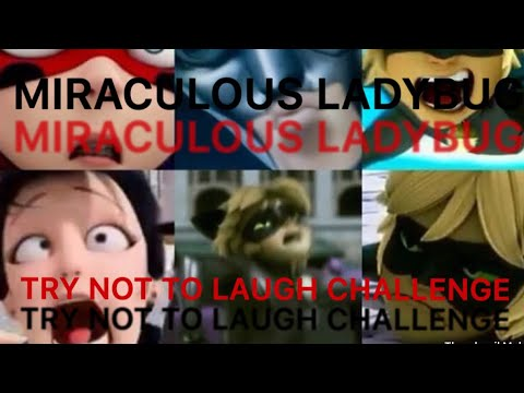 Try Not To Laugh Challenge Miraculous Ladybug Version Youtube
