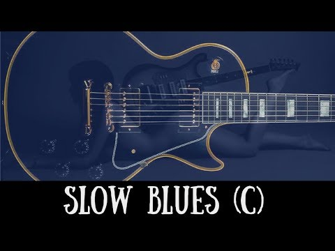 Slow Blues Jam | Sexy Guitar Backing Track (C)
