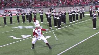 The Homecoming Halftime Show of The Ohio State University Marching Band