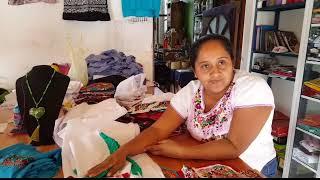 Bordado de San Antonino Castillo Velazco Oaxaca!!!!! Huipiles tipicos!