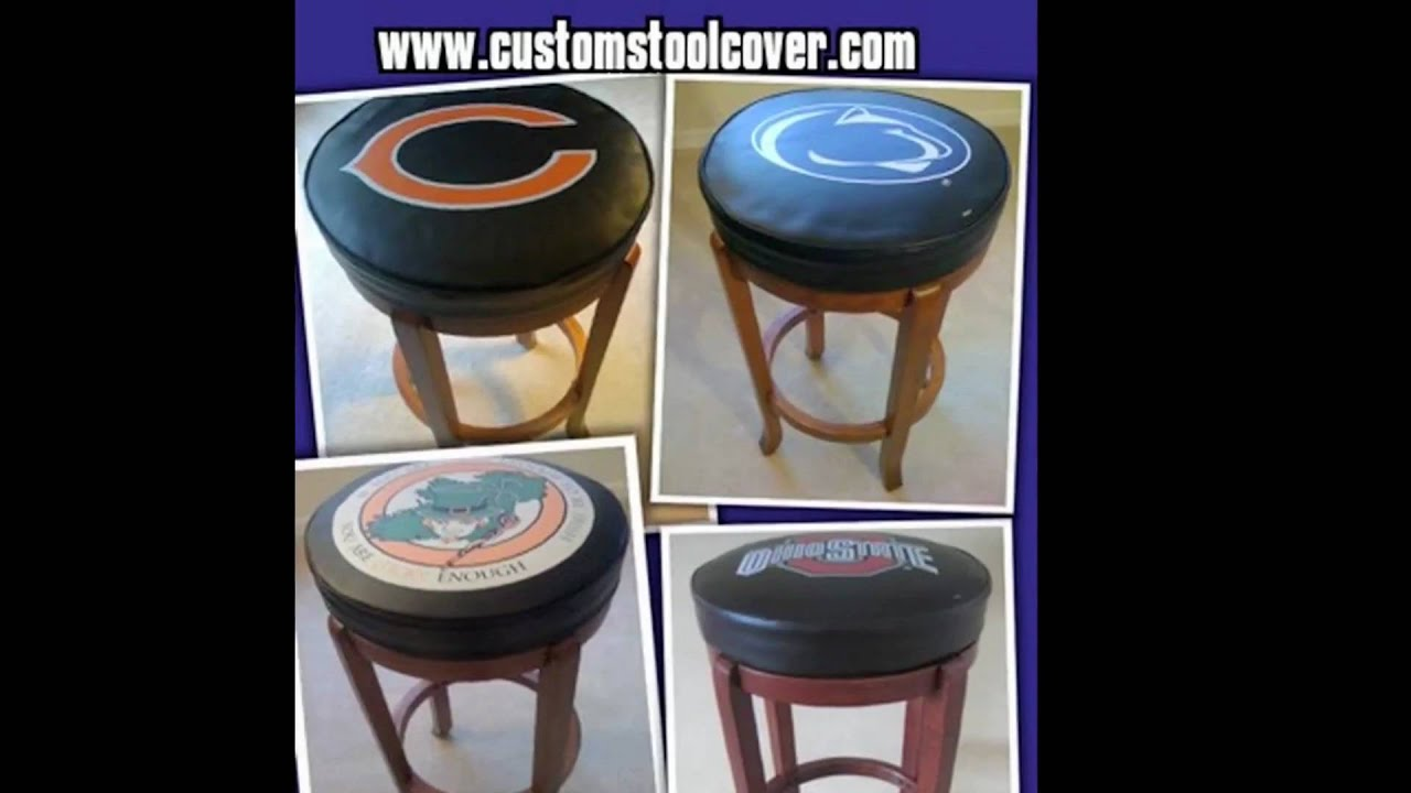 sports,bar stool covers - YouTube