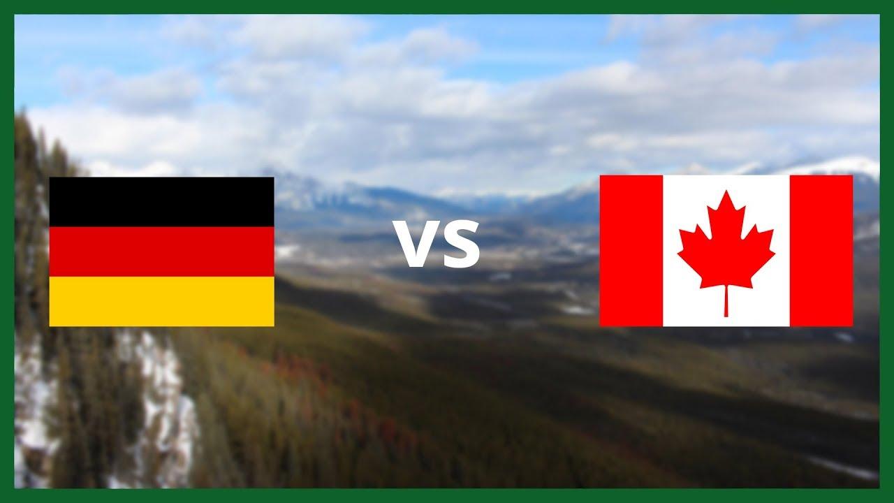 Kanada Deutschland