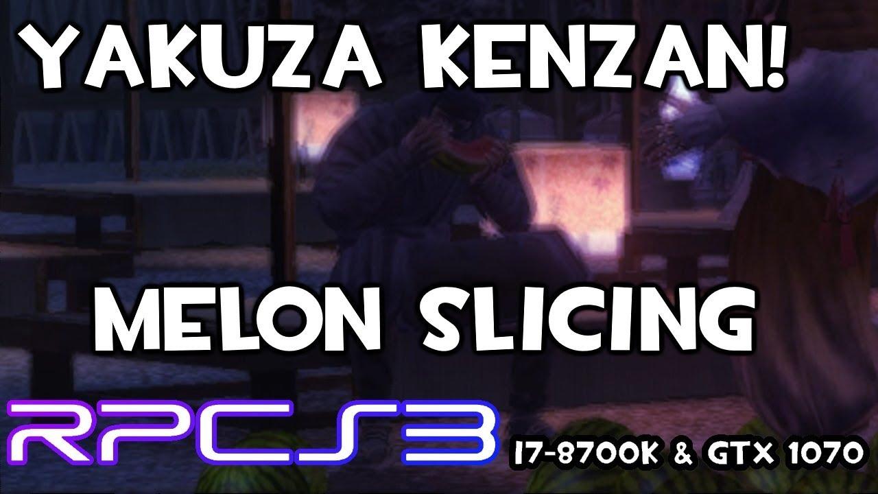 Steam Community :: Video :: [RPCS3] Yakuza Kenzan! Melon Slicing #4