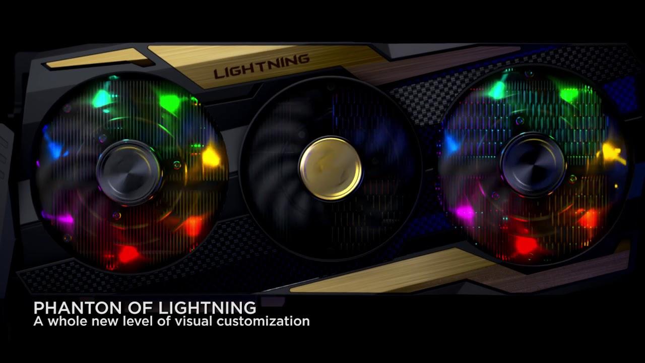 Carte graphique MSI RTX™ 2080 Ti LIGHTNING - Pensée pour la perfection