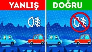 Kötü Hava Şartlarında Güvenli Sürüş İçin 8 İpucu