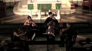 Attacca Quartet plays Haydn Op. 20 no. 4 - Third Movement