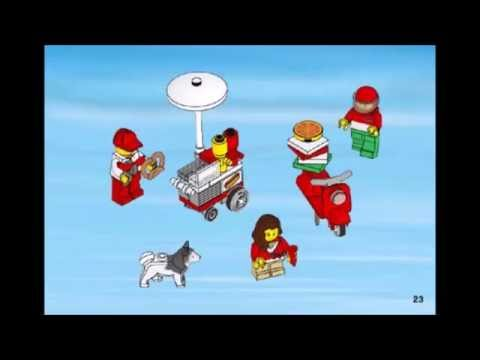 LEGO CITY, City Square Instructions 60097