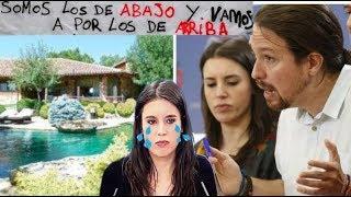 PORTAVOZA de Podemos *EN EVIDENCIA* Intentando explicar el lujoso CHALET Revolucionario....