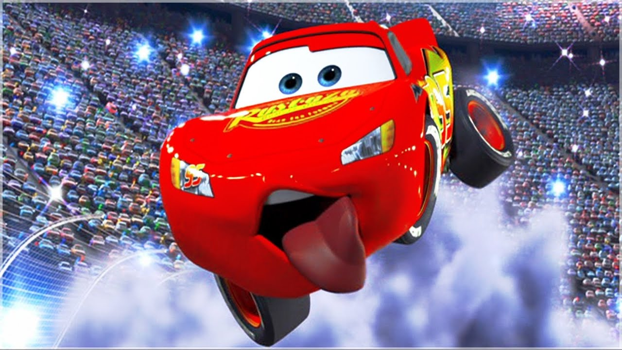 disney pixar cars 2 lightning mcqueen movie video