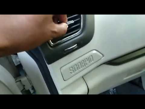 Mahindra Scorpio AC filter cabin filter replace 2016-17-18 model