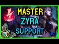 MASTER SUPPORT ZYRA SEASON 8 #2 - League of Legends